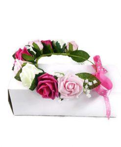 floral wreath for hair