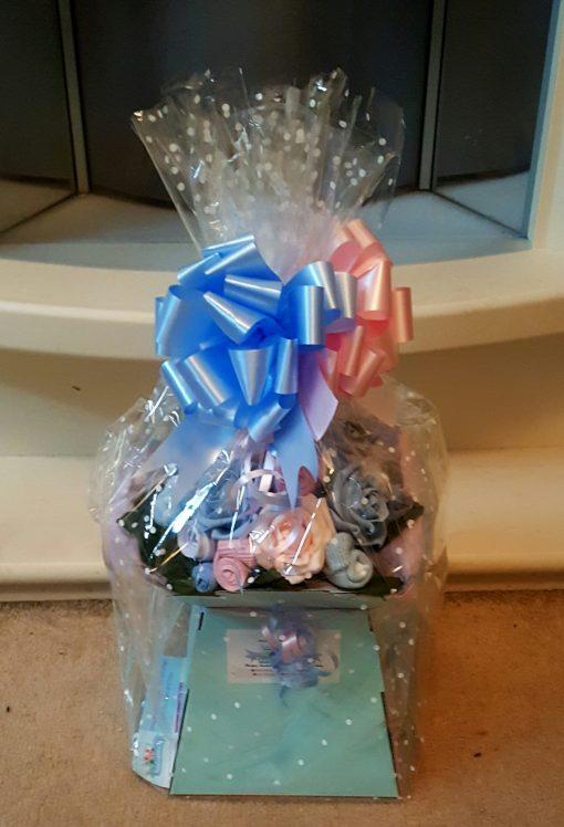 twin baby shower gift