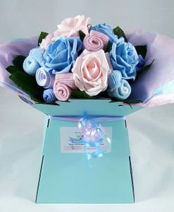 twin baby shower gift