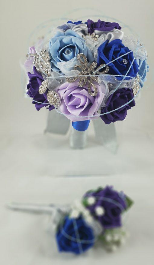 Ready made brooch bouquet
